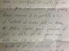 Lettera di ringraziamento, 25 Marzo 2014