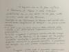 Lettera di ringraziamento, 27 Ottobre 2013